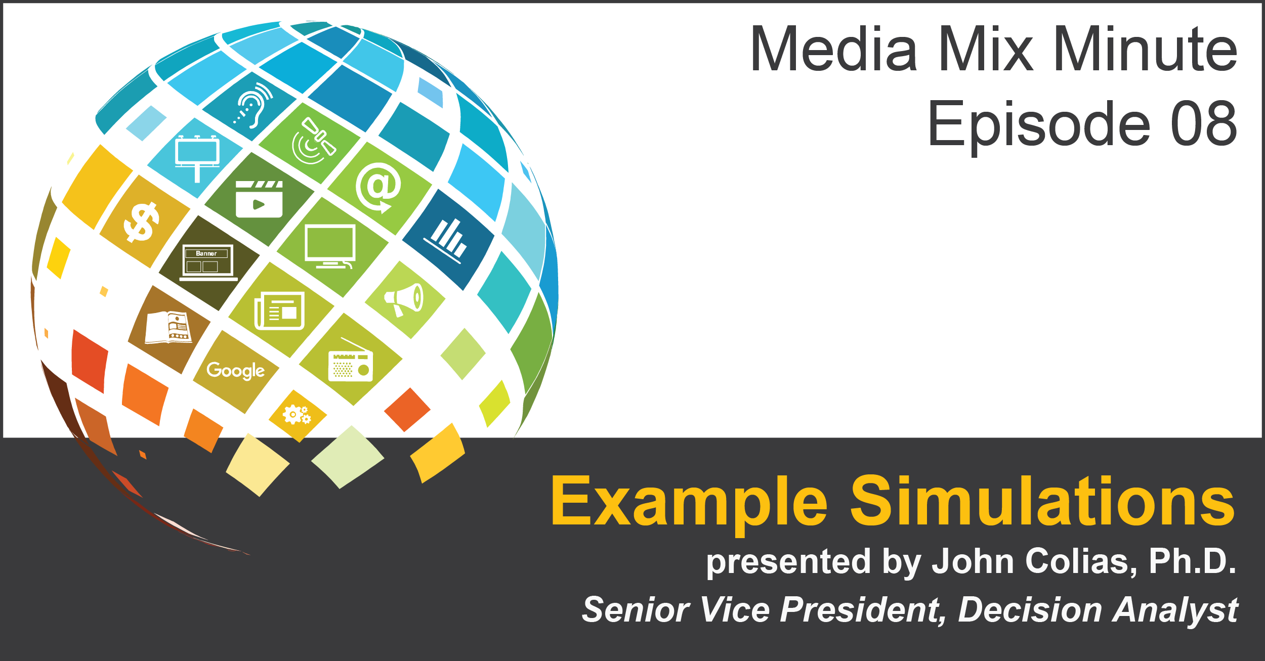 Media Mix Modeling Example Simulation