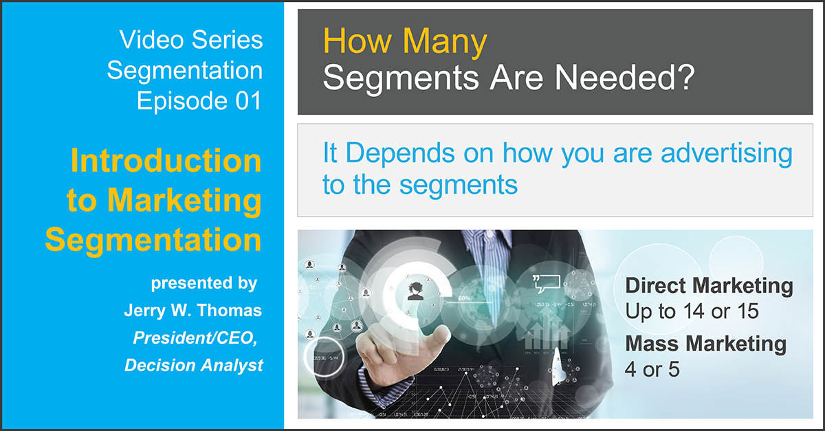 Introduction to Market Segmentation